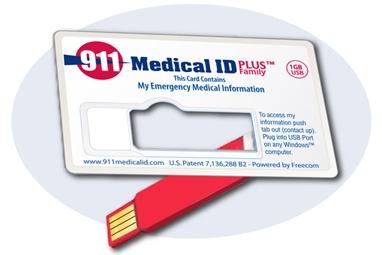911 Medical ID